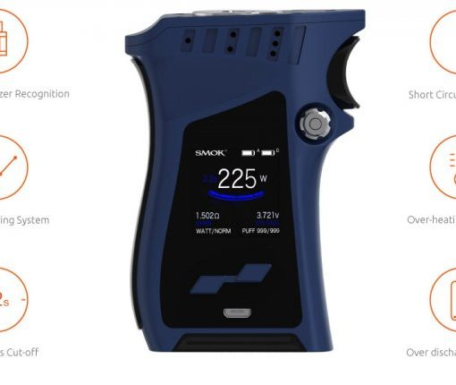 smoktech mag tc 225w grip full kit zlat elektronick cigarety olivie. Black Bedroom Furniture Sets. Home Design Ideas