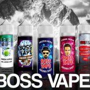 Příchutě Boss Vape 15ml S&V